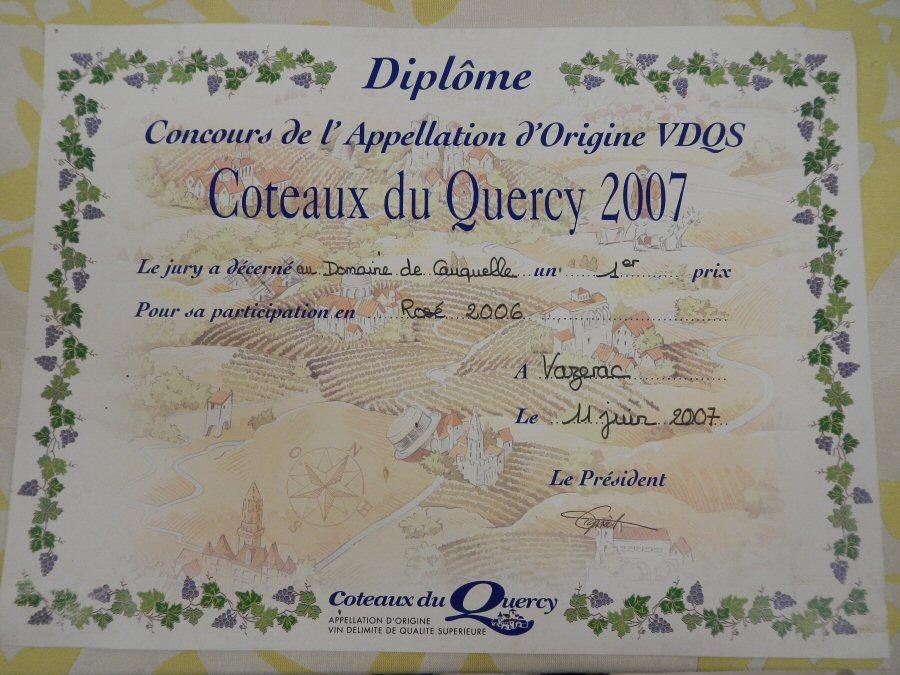concours-des-vins-coteaux-du-quercy-2007