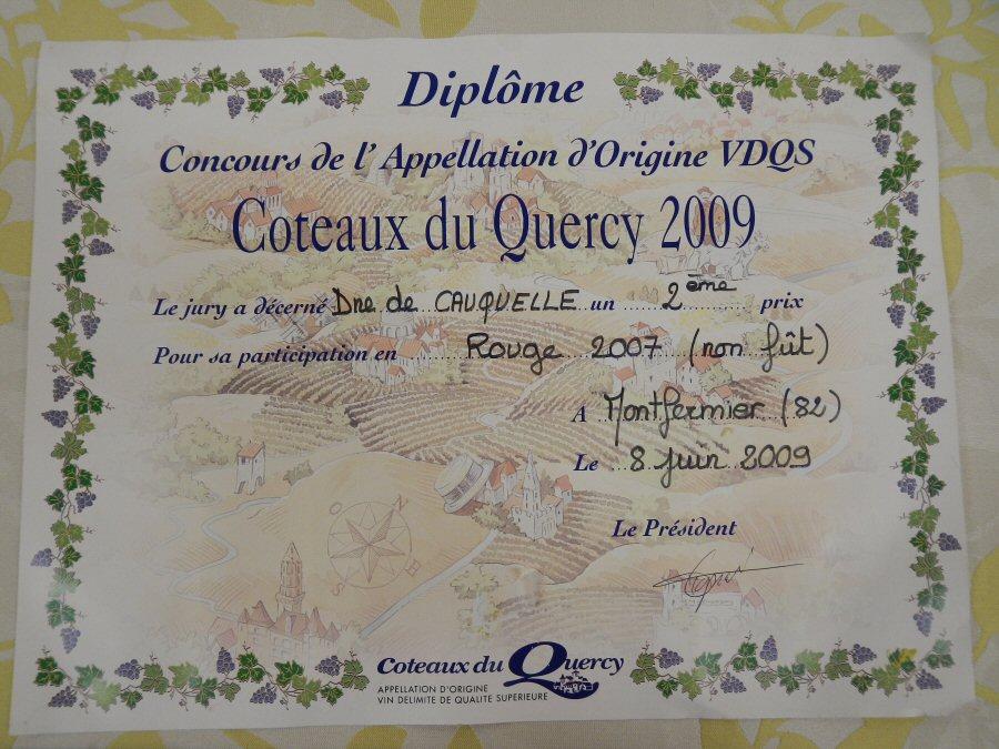 concours-des-vins-coteaux-du-quercy-2009