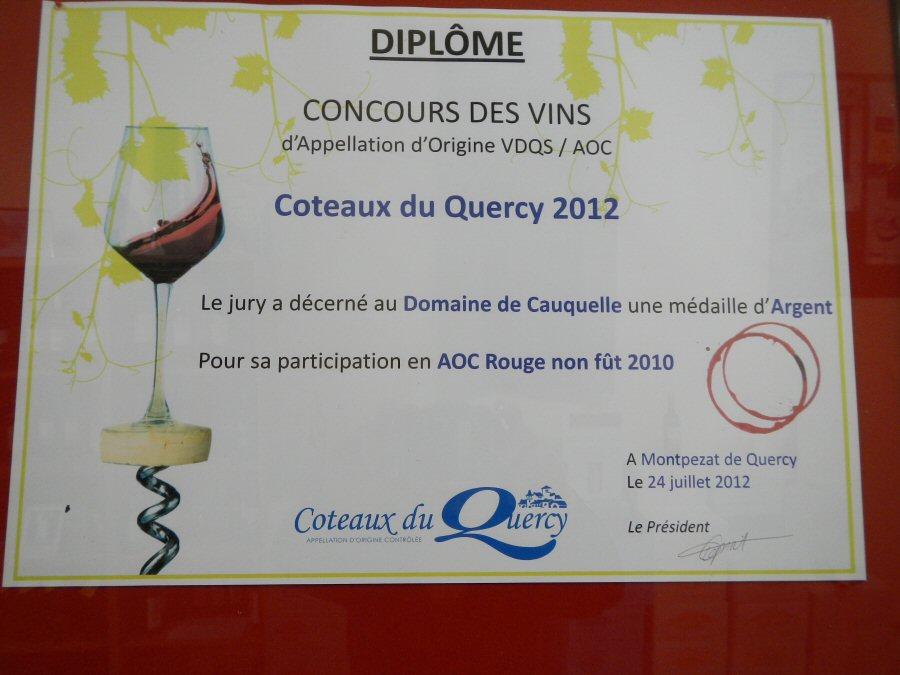 concours-des-vins-coteaux-du-quercy-2012